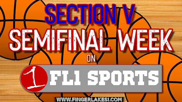 VIDEO REPLAY: Section V Class C1 Boys Semifinals (Red Jacket vs. Byron-Bergen & Marcus Whitman vs. Gananda)