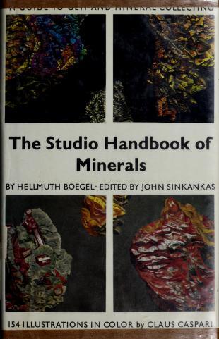 Cover of: Studio Handbook (A studio book) | Hellmuth Boegel